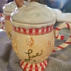 Ice cream sundae mugs